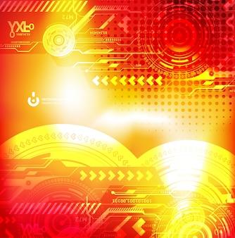 La tecnologia banca in acciaio dati decorazione