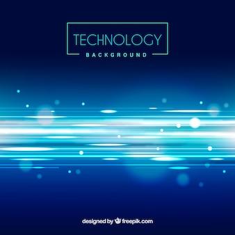 La tecnologia ha defocused sfondo lucido