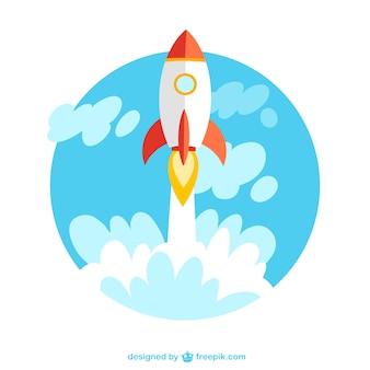 Lancio di un razzo foto e vettori gratis - Immagini stampabili a razzo ...