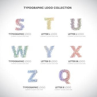 Lettera logo collezione