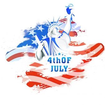 Libertà patriottico indipendenza usa americana