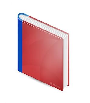 Libro vettoriale. Book business e libro di testo.