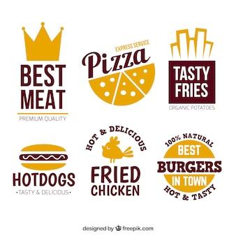 Loghi fast food