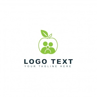 Logo della famiglia sana