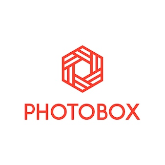 Logo della scatola della foto