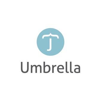 Logo design ombrello