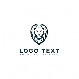 Logo Lion head