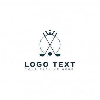 Logo reale di golf