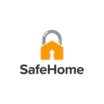Logo sicuro della casa