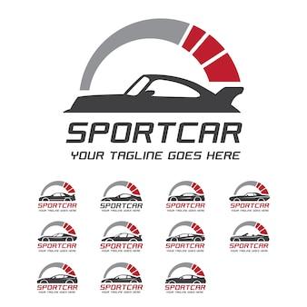 Logo sportivo di rivoluzione sportiva