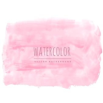 Luce rosa tenue acquarello trama macchia di sfondo