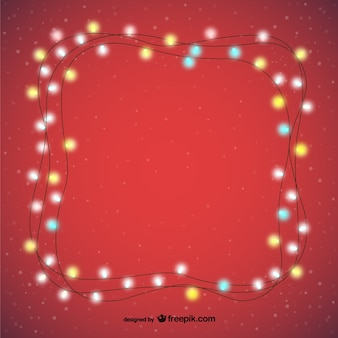 Luci decorative natalizie