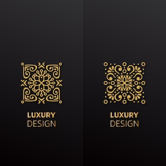 Luxury Design ornamento mandala