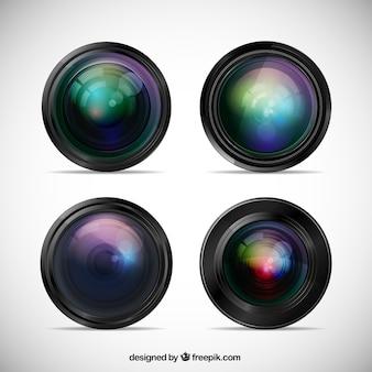Macchina fotografica lente