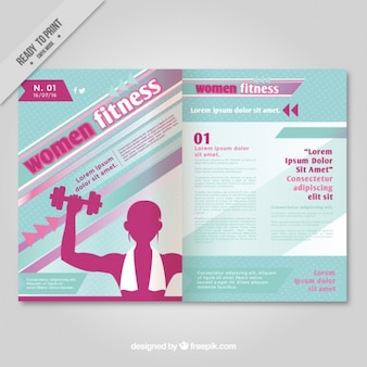magazine Women Fitness