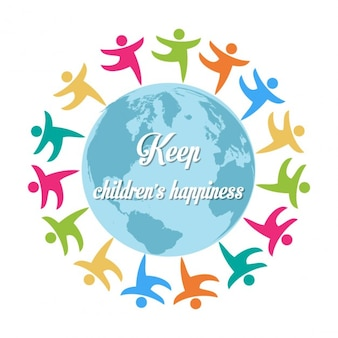 Mantenere la felicità dei bambini