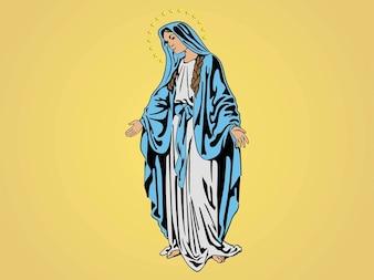 Maria, Madre di Gesù vettore