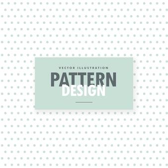 Minimo sfondo bianco con pattern di punti blu chiaro