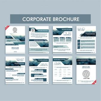 Modelli di brochure aziendale