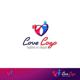 Modello di amore logo