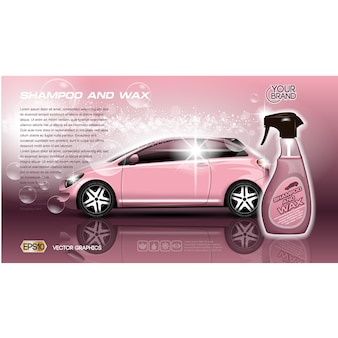 Modello di brochure Car
