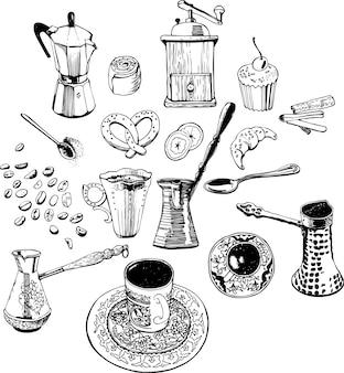 Modello di caffè