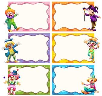 Modello Frame con jesters