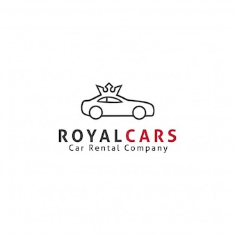 Modello Logo di Royal Cars