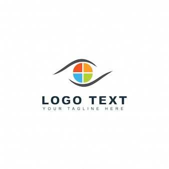 Modello Logo Media Media