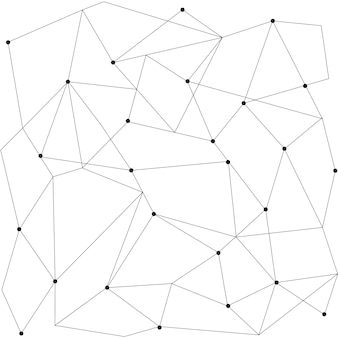 Modello moderno senza giunte geometrico scandinavo