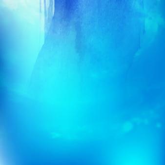 Moderna astratta sfondo blu acquerello