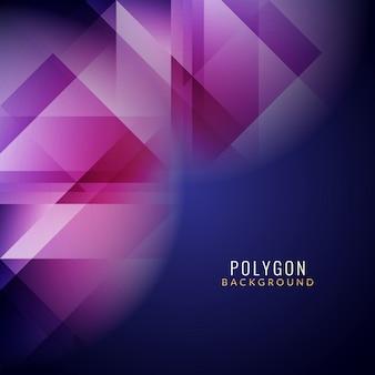 Moderna sfondo colorato poligonale