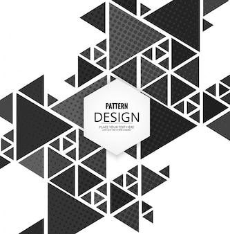 Moderno abckground poligonale