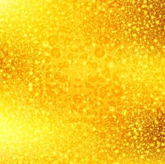 Moderno dorato brillante sfondo