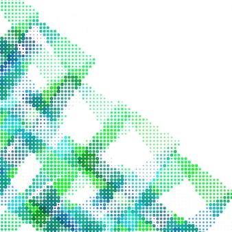Moderno sfondo mezzetinte colorato