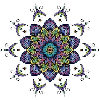 Multicolor mandala sfondo