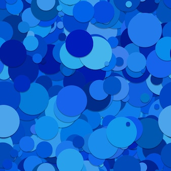Multitone blu cerchi sfondo