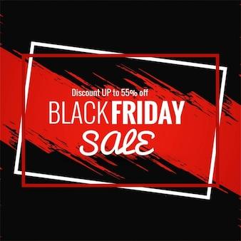 Nero vendita venerdì sfondo moderno
