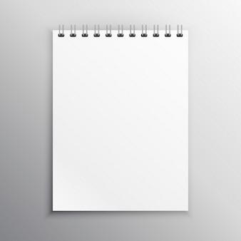 Notebook schermo mockup