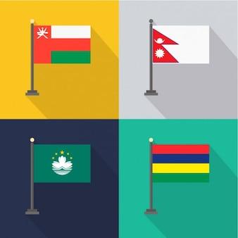 Oman Nepal Macao Mauricio
