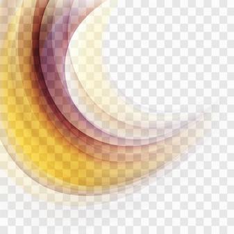 Ondata di sfondo colorato