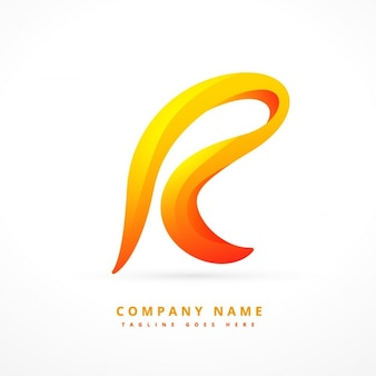 Ondulato lettera logo