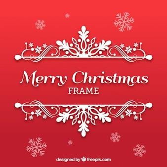 Ornamentali cornice di Natale