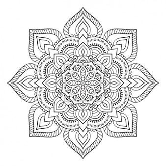Ornamento di design in stile Boho