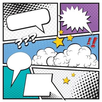 Pagina del fumetto