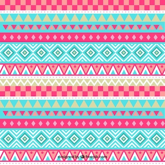 Pattern con fasce geometriche