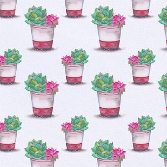 Pianta sfondo pattern