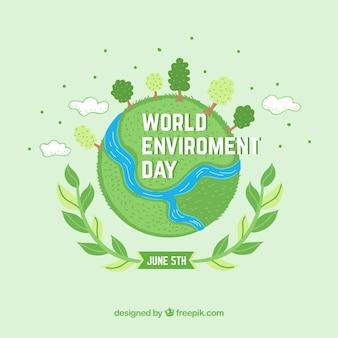 Piuttosto sfondo per la Giornata Mondiale dell'Ambiente