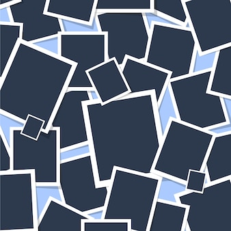 Polaroid seamless pattern