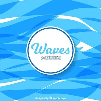 Premessa di fondo con le onde blu